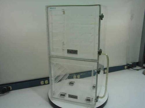 Plas Labs Dry Box  Acrylic Desiccator Cabinet 24 x 13 x 13