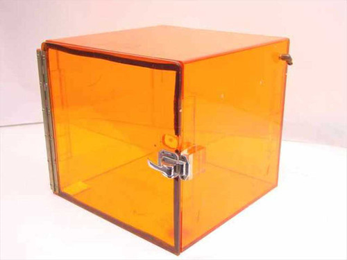 Generic Dry Box  Plexigass Tabletop Dry Box 14 x 14 x 13 Orange
