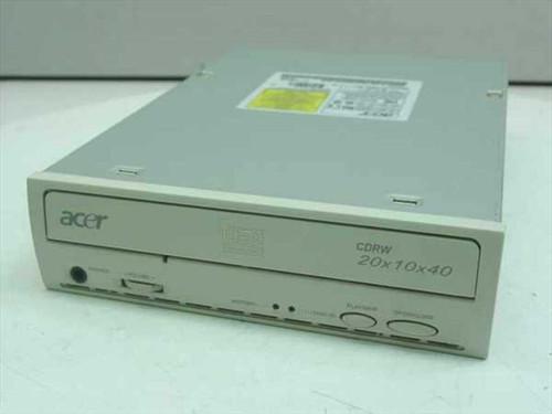 Acer 2010A  CD-RW IDE Internal 20x10x40