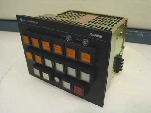 Allen Bradley 2705-P21J1  RediPanel Control Console Lighted Push Module
