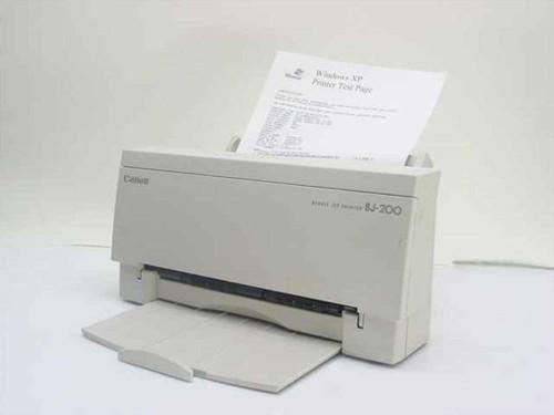 Canon BJ-200  Color Bubble Jet Printer Model K10110A