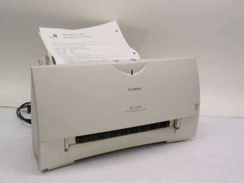 Canon BJC-4200  Color Bubble Jet Printer Model K30085