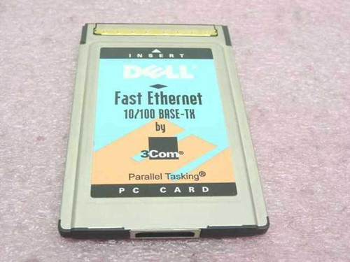 3COM 3CCFE575BT-D  Dell Fast Ethernet 10/100 Base-TX PC Card PCMCIA