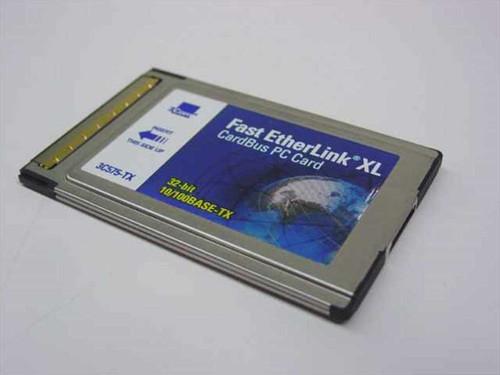 3COM 3C575-TX  Fast EtherLink XL CardBus PC Card 32-Bit 10/100 Ba