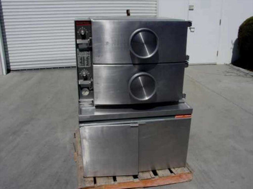 Market Forge A-1  Steam Cooker - Stainless Steel Gas Fired