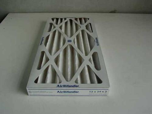 Air Handler 2W234  12 x 24 x 2 Extended Surface Air Filter