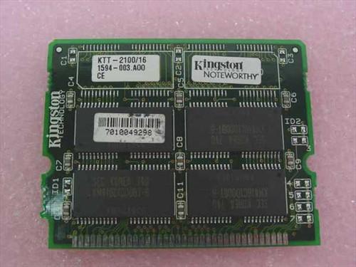 Toshiba 16MB Toshiba Laptop Memory T2130CT Compatible (PA2028U)