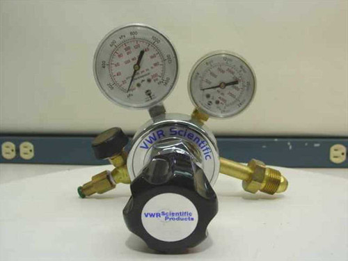 VWR 55850-265  Single Stage Metered Flow Valve - Helium