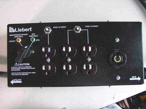 Liebert MP130E  Micro POD Plug Outlet & Switch