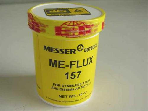 Messer Eutectic ME-Flux 157  16 Oz Flux ISO9002 for Stainless Steel