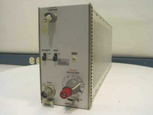 Tektronix 7A15A  Single Trace Amplifier