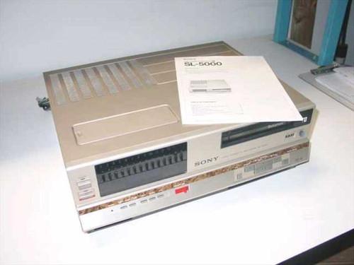 Sony SL-5000  Betamax VCR Tape Player II / III