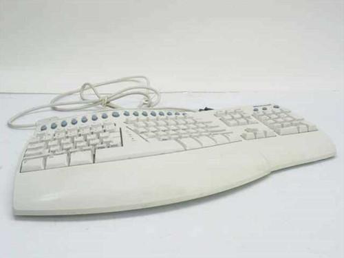 Microsoft X03-94432  Natural PS/2 Keyboard Pro (missing elevation foot)