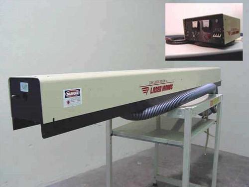 Laser Ionics 557A  Argon Ion Laser System w/557 Power Supply