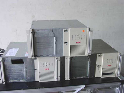 APC 2200XL  2200 VA Rackmount Smart UPS - Lot of 2 Sold As-Is