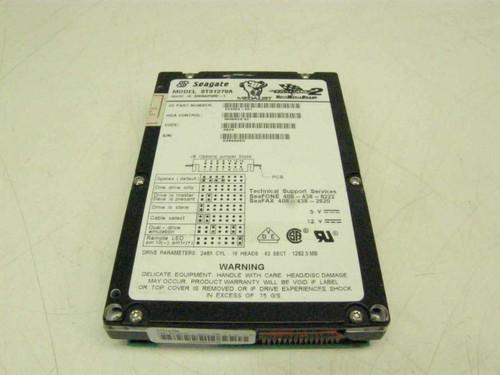 """Seagate ST31270A  1.2GB 3.5"""" IDE Hard Drive"""
