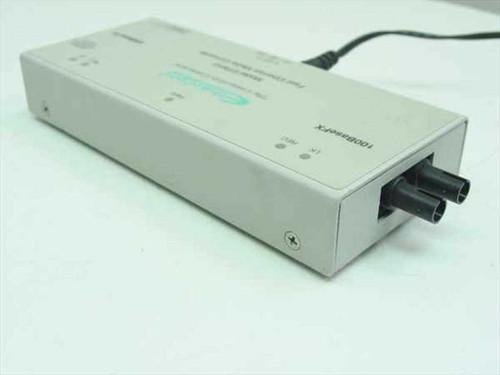 EtherCom EFM12-T  TX to FX Fast Ethernet media converter/ST fiber
