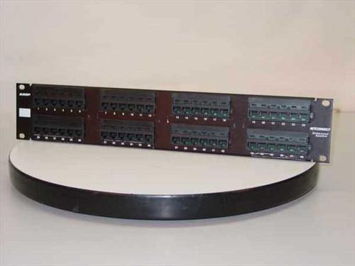 AMP 406331-1  Cat 5e Patch Panel - 48 Port