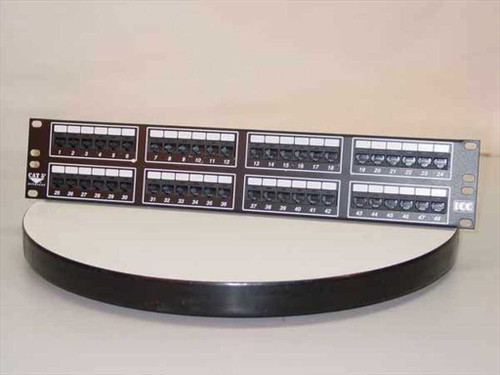 ICC HiPerlink 1000  Cat 5e Patch Panel - 48 Port