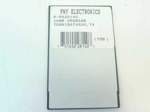 Toshiba PA2014U  16MB Laptop Memory Card - PNY - T4500