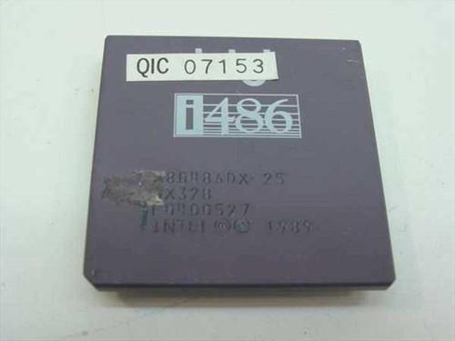 Intel SX328  486/25MHz Processor DX A80486DX-25