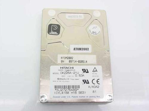 Hitachi DK226A-21U  2.1GB Laptop Hard Drive