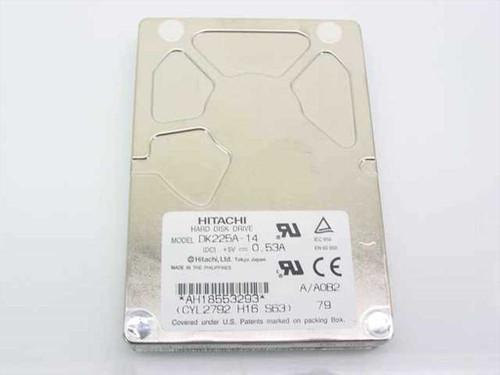 Hitachi DK225A-21  2.1GB Laptop Hard Drive