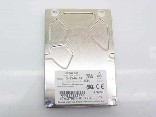 Hitachi DK224A-14  1.4GB Laptop Hard Drive