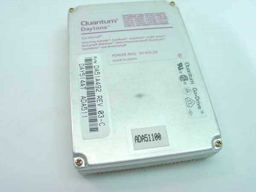 Quantum 514AT  514MB Laptop Hard Drive - DA51A492