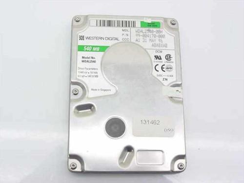 Western Digital WDAL2540-00h  540MB Laptop Hard Drive