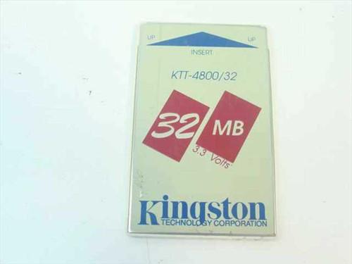 Kingston KTT-4800/32  32MB Toshiba Laptop Memory Card