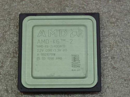 AMD K6-2/400AFQ  K6-2 400MHz/100/32/2.2V
