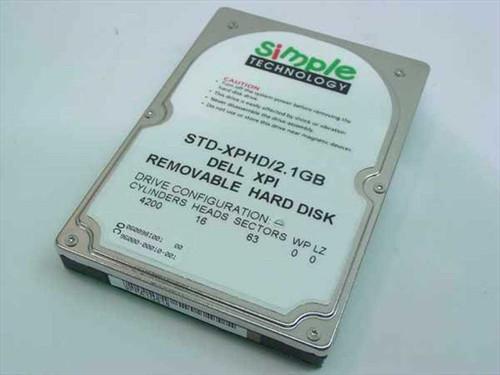 Dell STD-XPHD/2.1  2.1GB Laptop Hard Drive