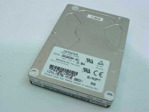 Hitachi DK223A-81  810MB Laptop Hard Drive