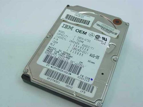 IBM 29H9529  720MB Laptop Hard Drive