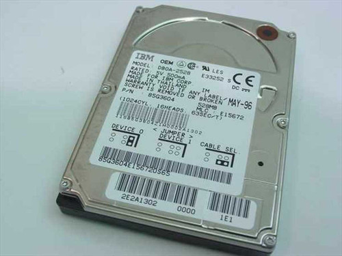 IBM 85G3604  528MB Laptop Hard Drive
