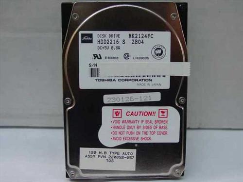 Toshiba MK2124FC  120MB Laptop Hard Drive