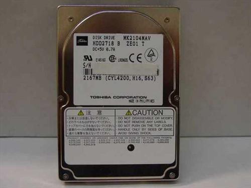 Toshiba MK2104MAV  2167MB Laptop Hard Drive