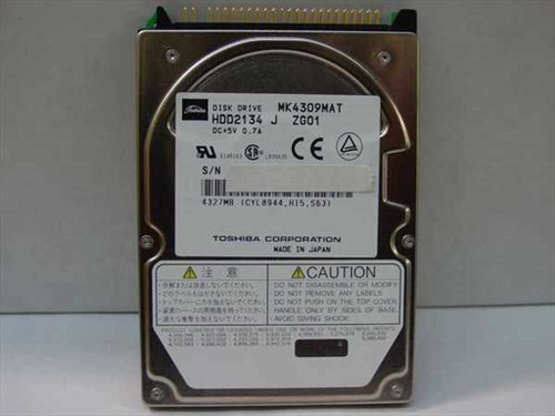 Toshiba MK4309MAT  4.1GB Laptop Hard Drive