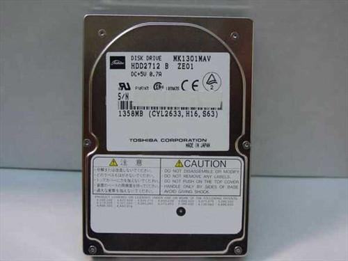 Toshiba MK1301MAV  1358MB Laptop Hard Drive