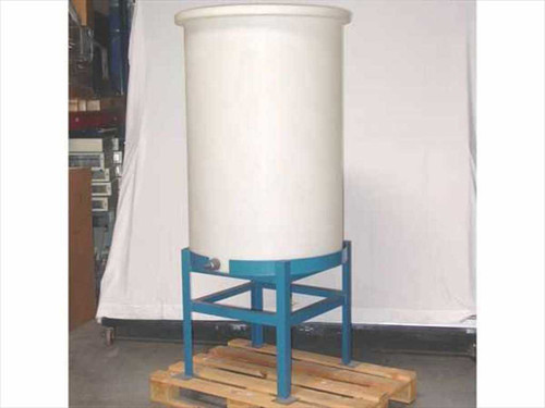 Generic 150 Gallon  Flat Bottom Tank with Spigot & Stand