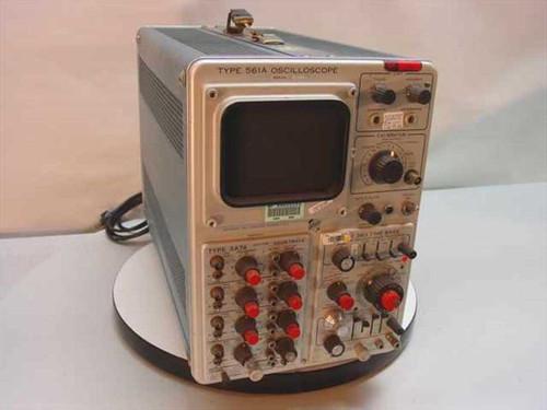 Tektronix 561A  Oscilloscope 3A74 3B3 - Vintage Collectable