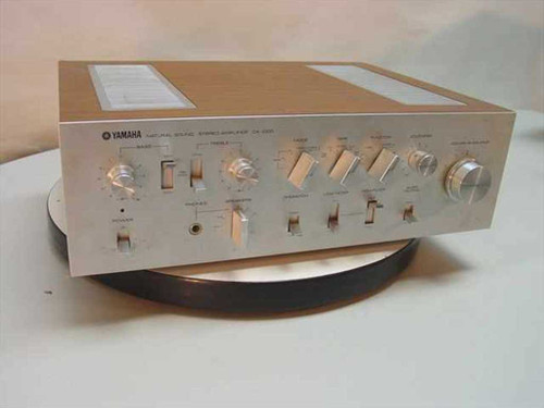 Yamaha CA-1000  Natural Sound Stereo Amplifier - Vintage Collectible