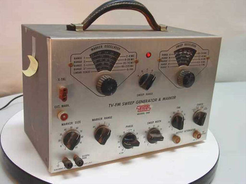 EICO 368  TV-FM Sweep Generator and Marker - Vintage Collect