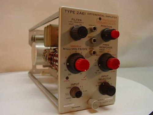 Tektronix 2A61  Diffferential Amplifier Plug-In