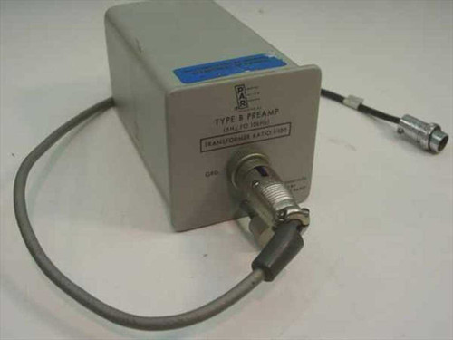 Princeton Applied Research Type B Preamp plug-in with cable TBP