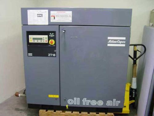 Atlas Copco ZT18  Oil Free Air Compressor ZT 18 Air Cooled 35HP