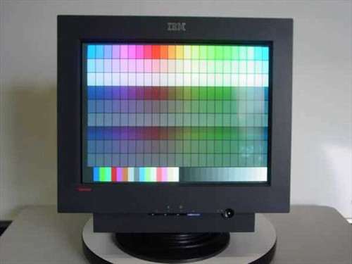 "IBM 6739-60N  19"" Flat Screen Monitor - ThinkVision C190 CRT"