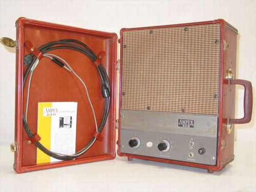 Ampex 620  Portable Tube Amplifier Speaker - Powers with Buzz
