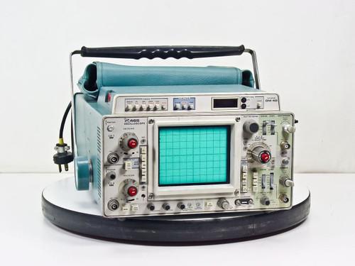 Tektronix 465 2-Channel Oscilloscope with Manual -Broken Knob & BAD DM40 Unit